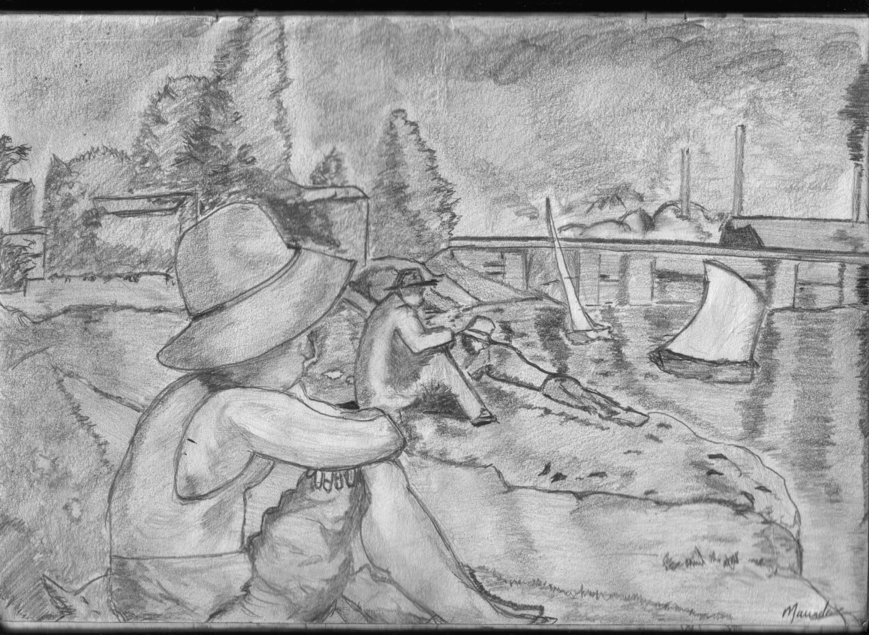 Bathers at Asnieres 1883